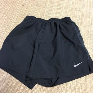 Men's Nike dry fit running shorts.